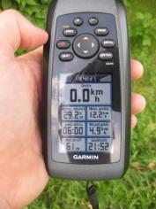 6 valandų trukmės 29,2 km ilgio kelionės rezultatas: vidutinis greitis 4,9 km/h (vietomis irklavau, bet buvau ir dukart išlipęs), maksimalus greitis - 12,2 km/h (matyt, kai irklavau per kriokuvas)